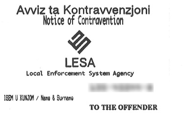 Contravention
